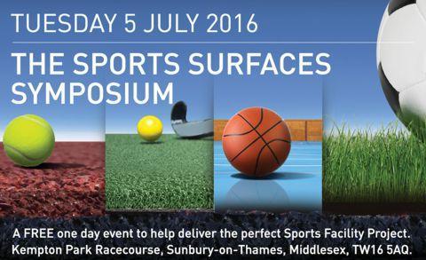 SAPCA Sports Surfaces Symposium Kempton Racecourse 5 July
