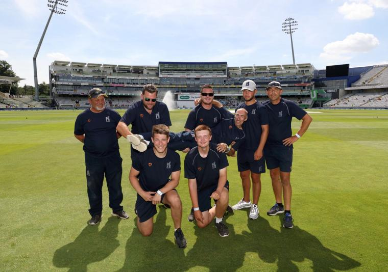 A memorable year beckons for Edgbaston's award-winning grounds team in what will be a watershed 12 months for cricket in England