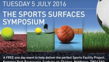 SAPCA Sports Surfaces Symposium Kempton Racecourse 5 July