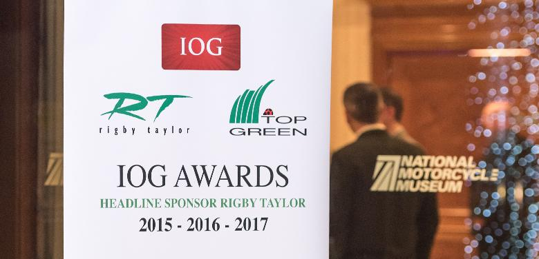 The national IOG Industry Awards 2017