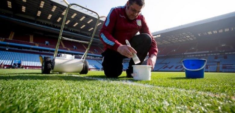 Aston Villa win Barclays Premier League Grounds Team of the Year