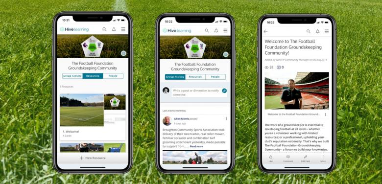 NEW: Groundskeeping Community app.