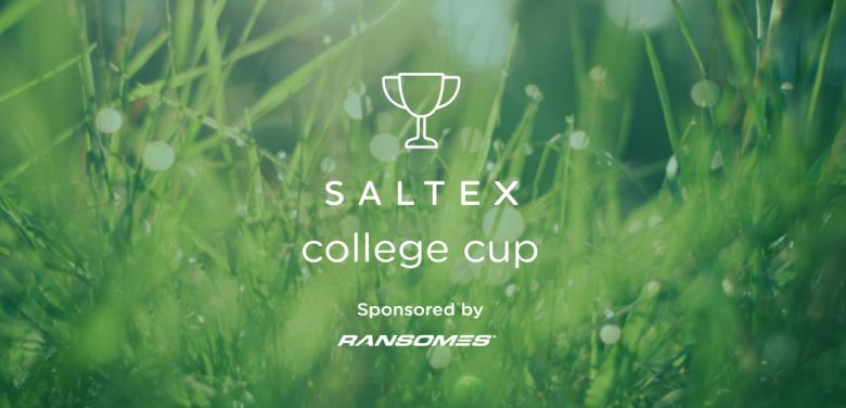 Sports turf students sign up to SALTEX College Cup 2016