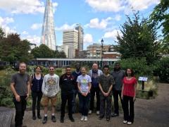 IOG Young Board promote groundsmanship to Bankside Open Spaces Trust  horticulture students