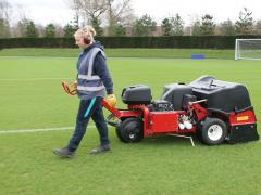Manchester City Academy takes on two women as sports turf apprentices
